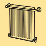 Radiator & towel rail